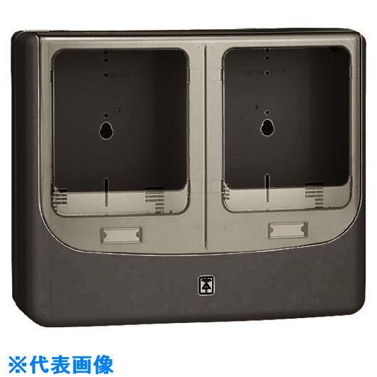 ■未来 電力量計ボックス(バイザー付)  〔品番:WPN-3WVK〕[TR-2056191]