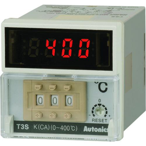 ■オートニクス デジタルスイッチ設定型温調器〔品番:T3S-B4SP4C-N〕[TR-2079819][送料別途見積り][法人・事業所限定][外直送]