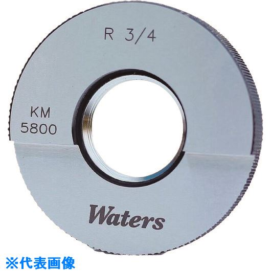 ■WATERS WATERS テーパーねじ用リングゲージ(R)〔品番:WR1/8-28R〕[TR-2089089][送料別途見積り][法人・事業所限定][掲外取寄]