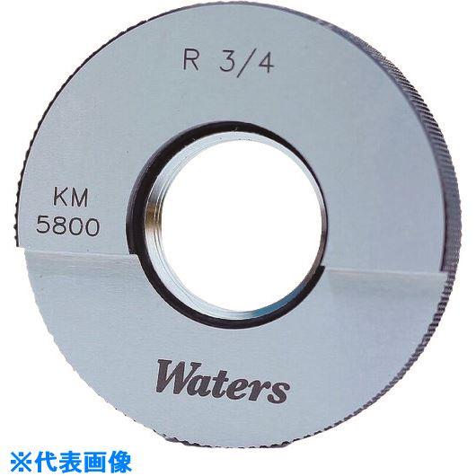 ■WATERS WATERS テーパーねじ用リングゲージ(R)〔品番:WR1-11R〕[TR-2089780][送料別途見積り][法人・事業所限定][掲外取寄]