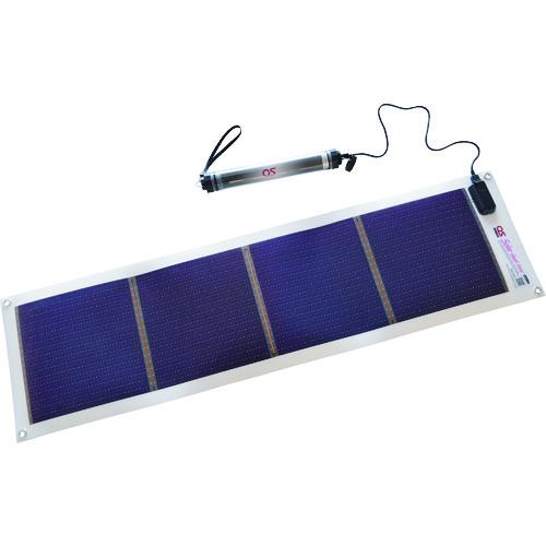 ■OS ソーラーシートチャージャーセット  〔品番:GN-100B1〕[TR-2092752]