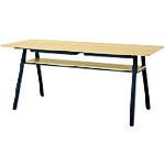 ■プラス WF カフェテーブル WF-2410CT-H LW (770067)  〔品番:WF-2410CT-H〕[TR-2102006]【大型・重量物・送料別途お見積り】