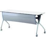 ■プラス ルアルコ 会議テーブル XT-520M WS (606398)  〔品番:XT-520M〕[TR-2103422]【大型・重量物・送料別途お見積り】