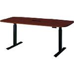 ■プラス Work Move テーブル WO-189M-B LM/BK (679746)  〔品番:WO-189M-B〕[TR-2103599]【大型・重量物・送料別途お見積り】