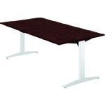 ■プラス ステージオ 会議テーブル ST-180TR LM/W4 (674506)  〔品番:ST-180TR〕[TR-2108069]【大型・重量物・送料別途お見積り】