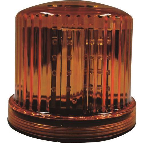 ■仙台銘板 LED回転・点滅灯 電池式 イエロー 20個入 〔品番:3082074〕外直送元[TR-2108426×20]【個人宅配送不可】