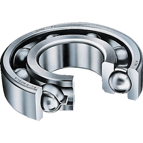 ■NTN B中形ボールベアリング(開放タイプ)内輪径90mm外輪径190mm幅43mm〔品番:6318CM〕[TR-2140101]