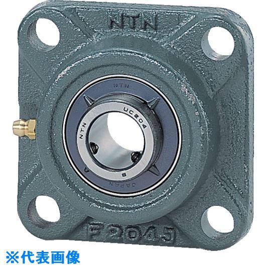 ■NTN G ベアリングユニット(止めねじ式)軸径75mm全長200mm全高200mm〔品番:UCF215D1〕[TR-2142881]