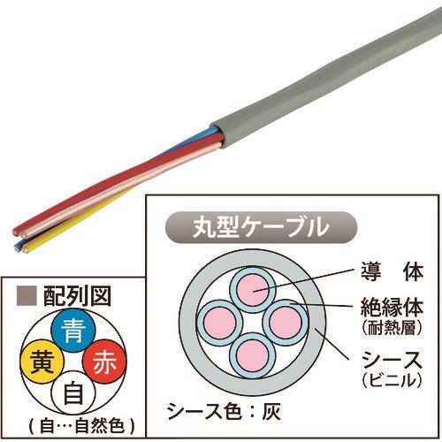 ■JAPPY 弱電回路用 耐熱電線            〔品番:HP09X4CJP〕[TR-2163553]