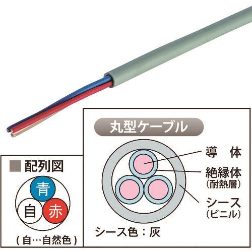 ■JAPPY 弱電回路用 耐熱電線            〔品番:HP12X3CJP〕[TR-2166740]