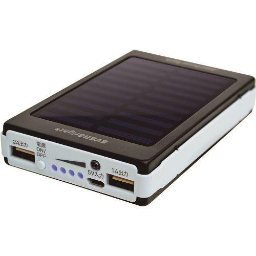 メテックス マーケティング USB充電器 ■METEX エバーブライト ソーラーパワーバンク 20個入 〔品番:SYHSPB-BK〕 事業所限定 TR-2177707×20 SALENEW大人気 外直送 送料別途見積り 法人