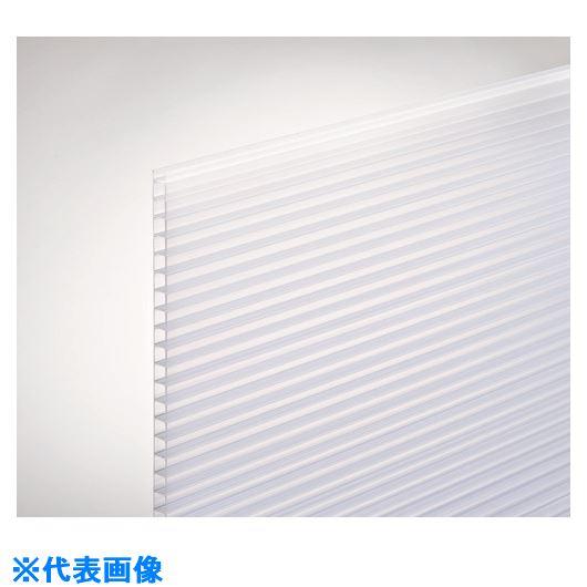 ■光 ポリカ中空ボード450×900×4MM乳白半透明2枚入 3Pk入 〔品番:KTP940W-3〕[TR-2178217×3]