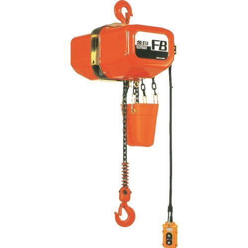 ■象印 電気チェーンブロック 0.5T 揚程5M  〔品番:F400550〕外直送[TR-2213303]【大型・重量物・個人宅配送不可】【送料別途お見積り】