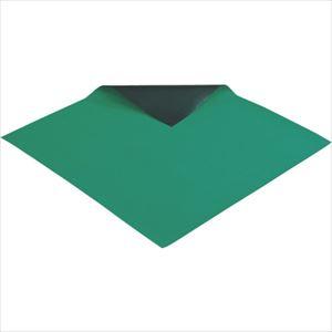 ■HOZAN 導電性カラ-マット 1×1M グリーン 補強繊維入り〔品番:F-78〕[TR-2218127]