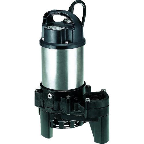 ■ツルミ 樹脂製雑排水用水中ハイスピンポンプ 50HZ 口径50MM 単相100V 50HZ 50HZ 〔品番:50PN2.4S〕[TR-2232464]