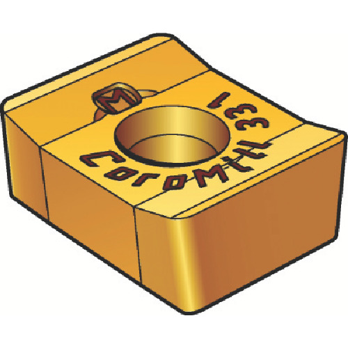 ■サンドビック コロミル331用チップ 3040 3040 10個入 〔品番:N331.1A-084508M-KM〕[TR-2271231×10]