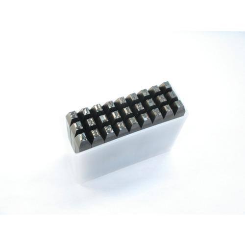 ■TRUSCO 英字刻印セット 4MM  〔品番:SKA-40〕[TR-2284863]