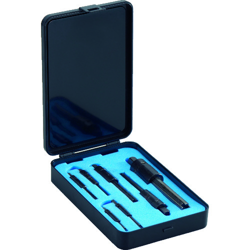 ■TRUSCO 折れ込みタップ除去工具セット 7本組 三本爪・四本爪  〔品番:PTS-1700S〕[TR-2319292]