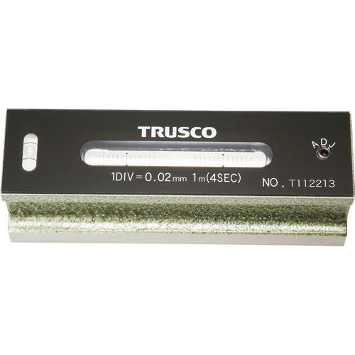 ■TRUSCO 平形精密水準器 B級 寸法150 感度0.02  〔品番:TFL-B1502〕[TR-2326701]