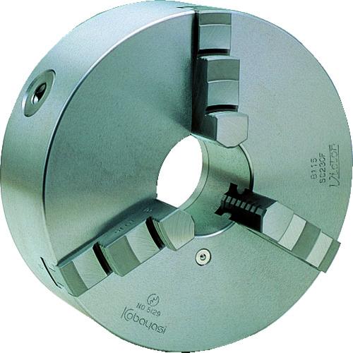 ■ビクター スクロールチャック SC110F 4インチ 3爪 一体爪〔品番:SC110F〕[TR-2391082]
