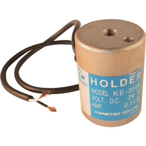 【良好品】 ?カネテック 電磁ホルダー 径30MM×高さ40MM〔品番:KE-3HA〕[TR-2394081]:ファーストFACTORY-DIY・工具