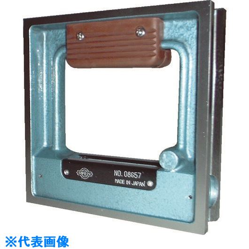 ■TRUSCO 角型精密水準器 A級 寸法150X150 感度0.02  〔品番:TSL-A1502〕[TR-2397226]