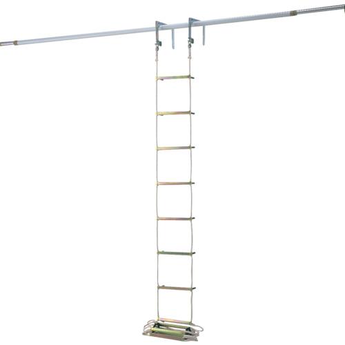 ■ピカ 避難用ロープはしご EK型6m〔品番:EK-6〕[TR-2430169]【個人宅配送不可】