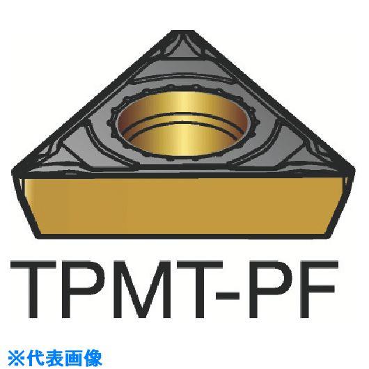 ■サンドビック コロターン111 旋削用ポジ・チップ 5015 5015 10個入 〔品番:TPMT〕[TR-2507153×10]