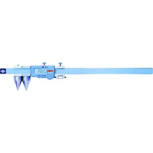 ■カノン 直読式デジタル丸穴ピッチノギス200mm〔品番:E-RX20B〕[TR-2518473]