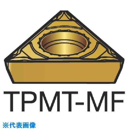 ■サンドビック コロターン111 旋削用ポジ・チップ 2015 2015 10個入 〔品番:TPMT〕[TR-2523531×10]