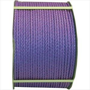 まつうら工業 ロープ ■まつうら PEフィルムロープ(8打ち、芯なし) 8mmΦ×300m 紫 ドラム巻 PEFILM8X300VIODR(2543852)[法人・事業所限定][外直送元]