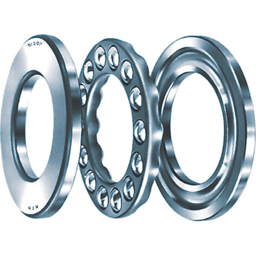 ■NTN A小径小形ボールベアリング軸軌道径100mmハウジング径150mm幅38mm〔品番:51220〕[TR-2637618]