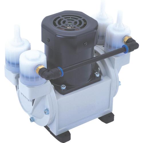 ■ULVAC 単相100V ダイアフラム型ドライ真空ポンプ 排気速度24/30 〔品番:DA-30S〕[TR-2705176]