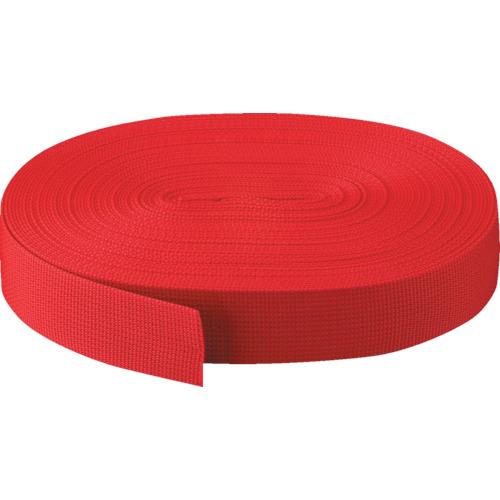 ■TRUSCO PPベルト幅50mmX長さ50m 赤〔品番:PPB-5050〕[TR-2737540]