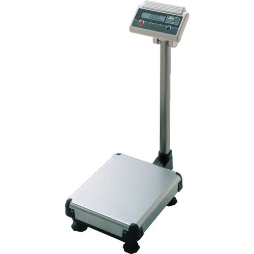 ■A&D デジタル台はかりポール付き0.02kg/150kg〔品番:FG150KAM〕[TR-2774046]【大型・重量物・個人宅配送不可】