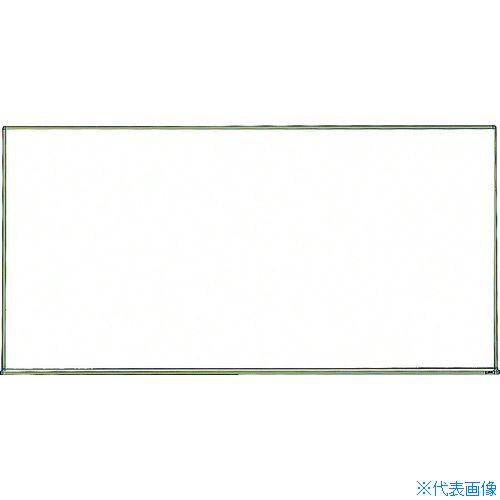■TRUSCO スチール製ホワイトボード 白暗線 600X900  〔品番:WGH-122SA-BL〕[TR-2884968]【大型・重量物・個人宅配送不可】