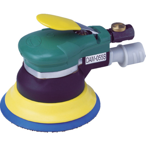 ■空研 吸塵式デュアルアクションサンダー(マジック)  〔品番:DAM-055SB〕[TR-2954222]