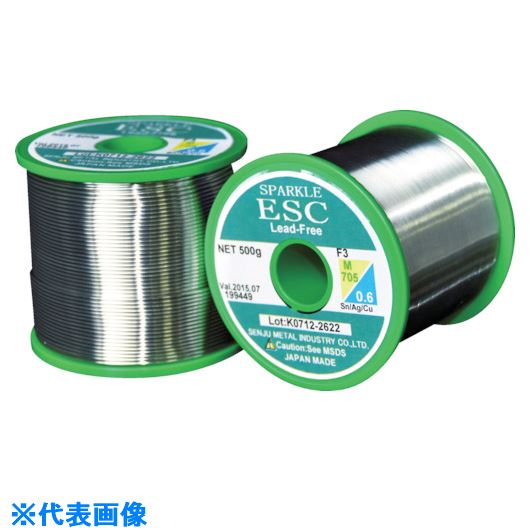 ■千住金属 エコソルダー ESC21 F3 M705 0.8ミリ 1kg巻〔品番:ESC21〕[TR-2973235]