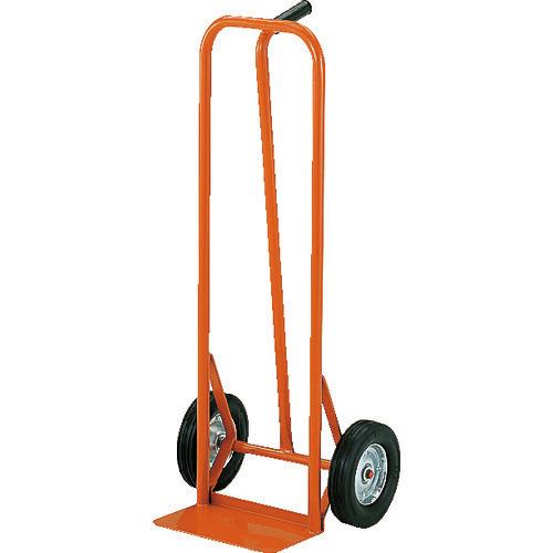■TRUSCO スチールパイプ製二輪運搬車 H1060 すくい板150X306  〔品番:HT-39N〕[TR-3001075]【大型・重量物・個人宅配送不可】【送料別途見積もり】