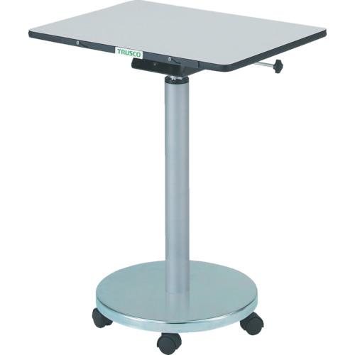 ■TRUSCO 補助テーブル 450X450XH700-900〔品番:ME-4545〕[TR-3012433]【大型・個人宅配送不可】