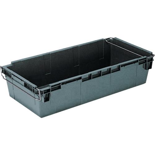 ■リス HB型コンテナーHB-120 グレー〔品番:HB-120〕[TR-3039081]【大型・重量物・個人宅配送不可】