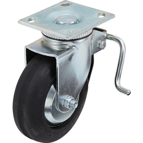 ■スガツネ工業 重量用キャスター径152自在ブレーキ付D(200-133-471)〔品番:SUG-31-406B-PD〕[TR-3053555]