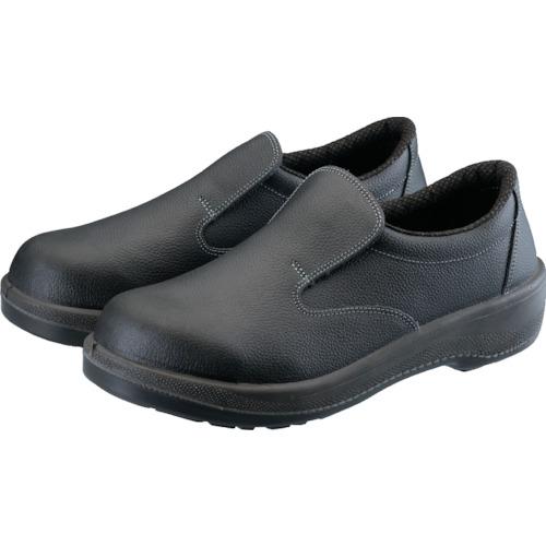 ■シモン 安全靴 短靴 7517黒 24.5CM  〔品番:7517-24.5〕[TR-3085686]