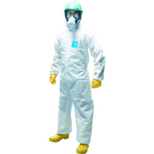 ■シゲマツ 使い捨て化学防護服(10着入り) XXL〔品番:MG1500-XXL〕[TR-3090183]