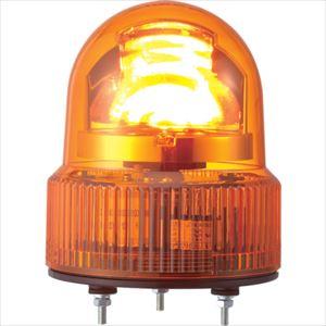 ■パトライト SKHE型 LED回転灯 Φ118 オールプラスチックタイプ  〔品番:SKHE-100-Y〕[TR-3240011]