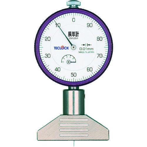■テクロック ダイヤルデプスゲージ 測定範囲0~5MM〔品番:DM-264〕[TR-3311007]