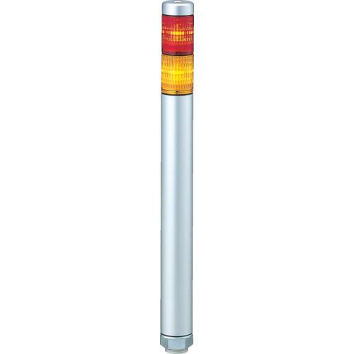 ■パトライト スーパースリムLED超スリム積層 色:赤・黄  〔品番:MP-202-RY〕[TR-3334104]