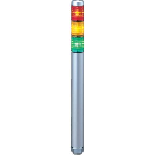 ■パトライト スーパースリムLED超スリム積層 色:赤・黄・緑  〔品番:MP-302-RYG〕[TR-3334112]
