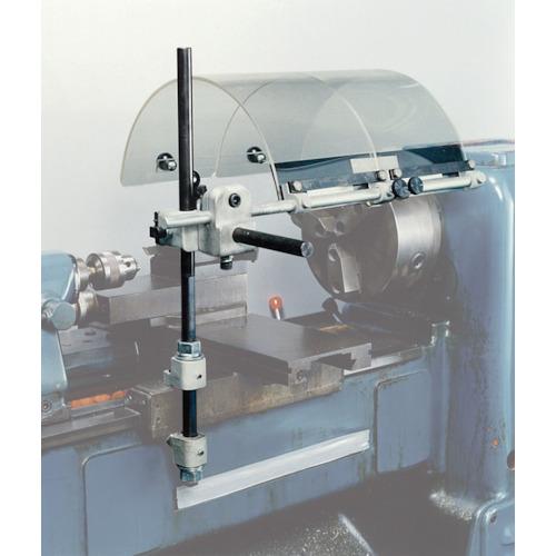 ■フジ マシンセフティーガード 旋盤用 ガード幅400mm 2枚仕様〔品番:LD-124〕[TR-3338665]