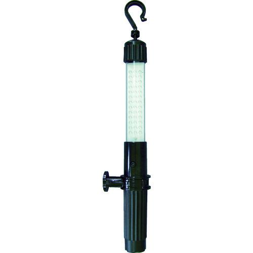 ■日動 充電式LEDハンディーライト 4W 黒  〔品番:LEH-4W-B〕[TR-3377334]